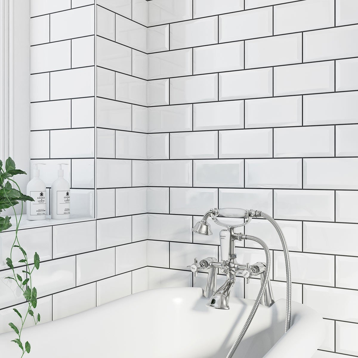 How to calculate grout for ceramic tiles