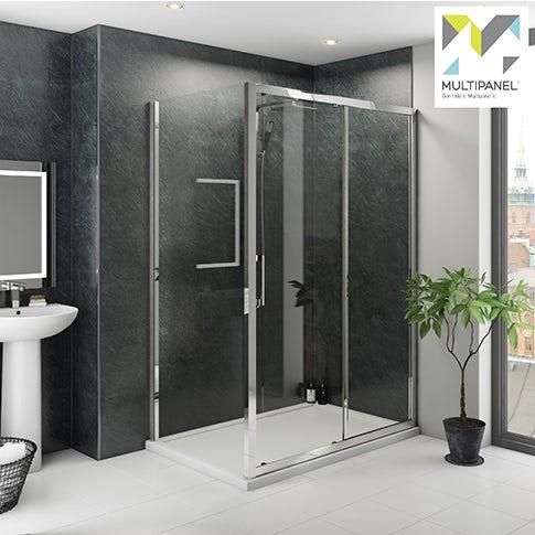 Multipanel shower panels