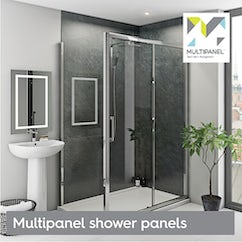 Multipanel shower panels