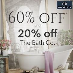 20% off The Bath Co. bathrooms