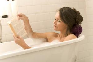 Enjoy a bubble bath