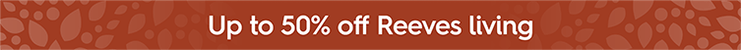 Up to 50% off Reeves living furniture