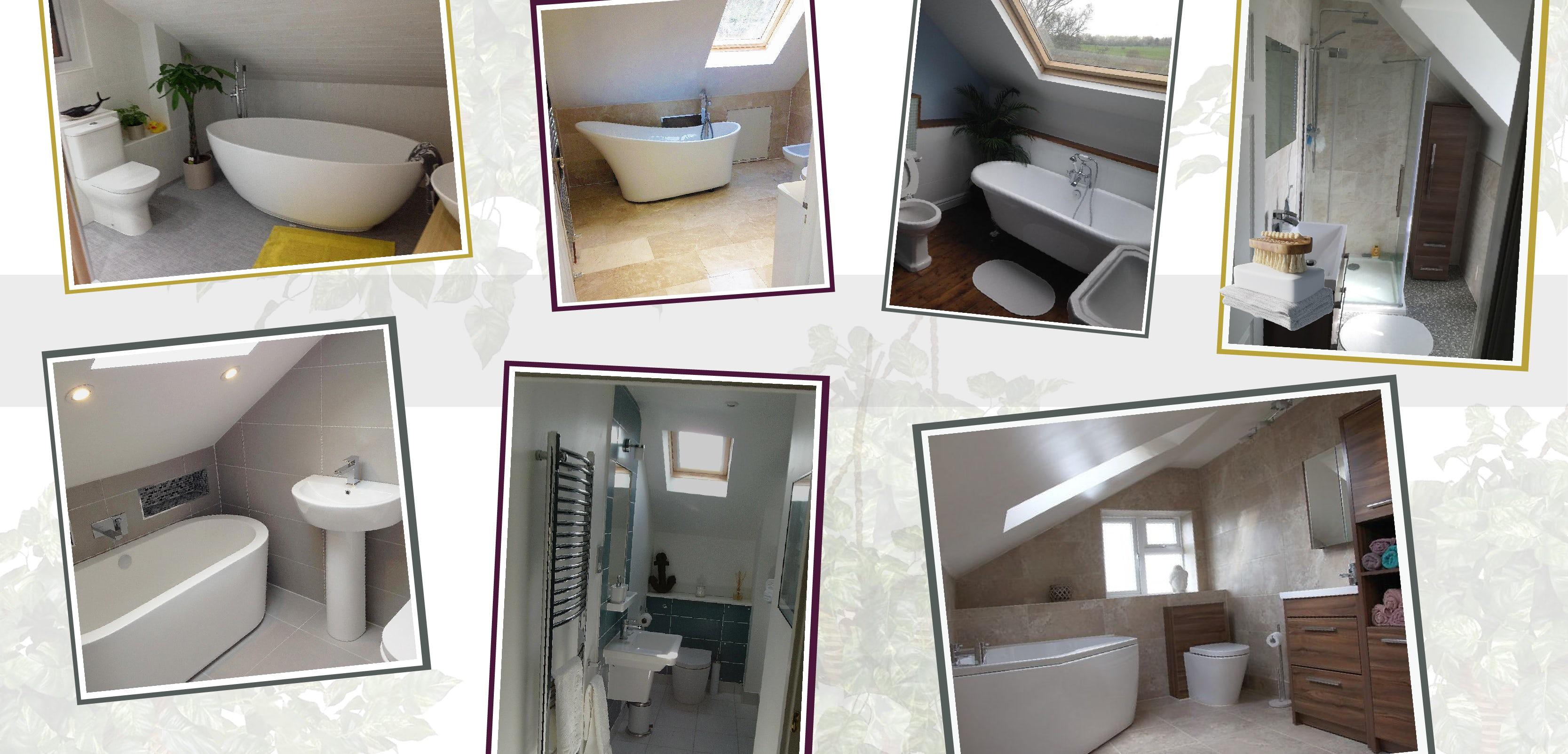 The best bathroom suites for loft conversions