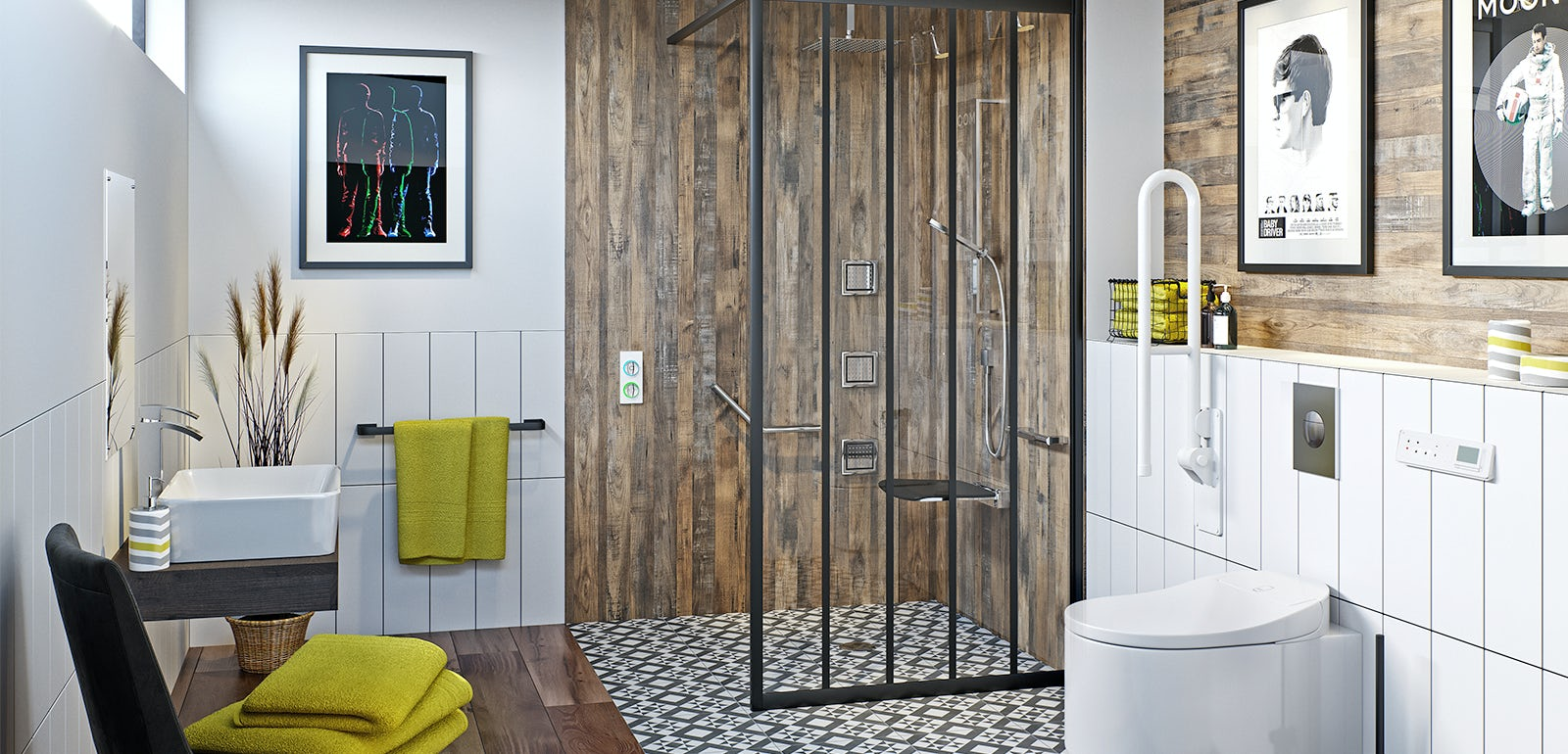 How To Create A Stylish Bathroom For A Wheelchair User - Bathroom for wheelchair user