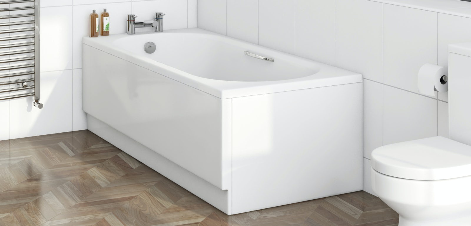 What is a standard bath size for Large bathtub dimensions