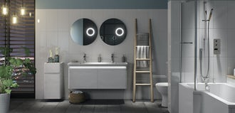 How to work out how much bathroom furniture you need
