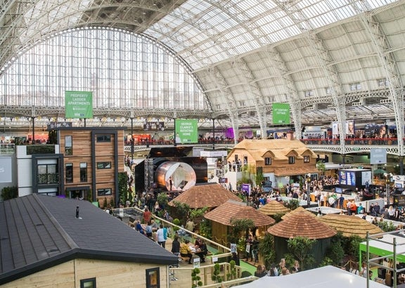 See our bathrooms at the Ideal Home Show 2018