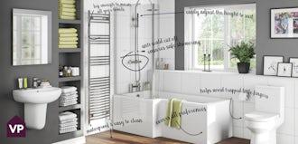 Create the perfect family bathroom