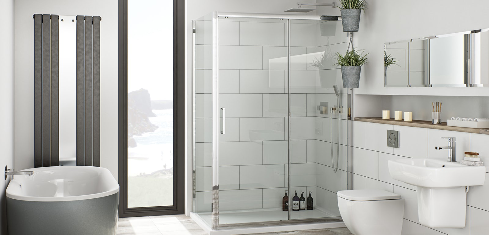 Introducing our new bathroom collections - Bath shower room ...