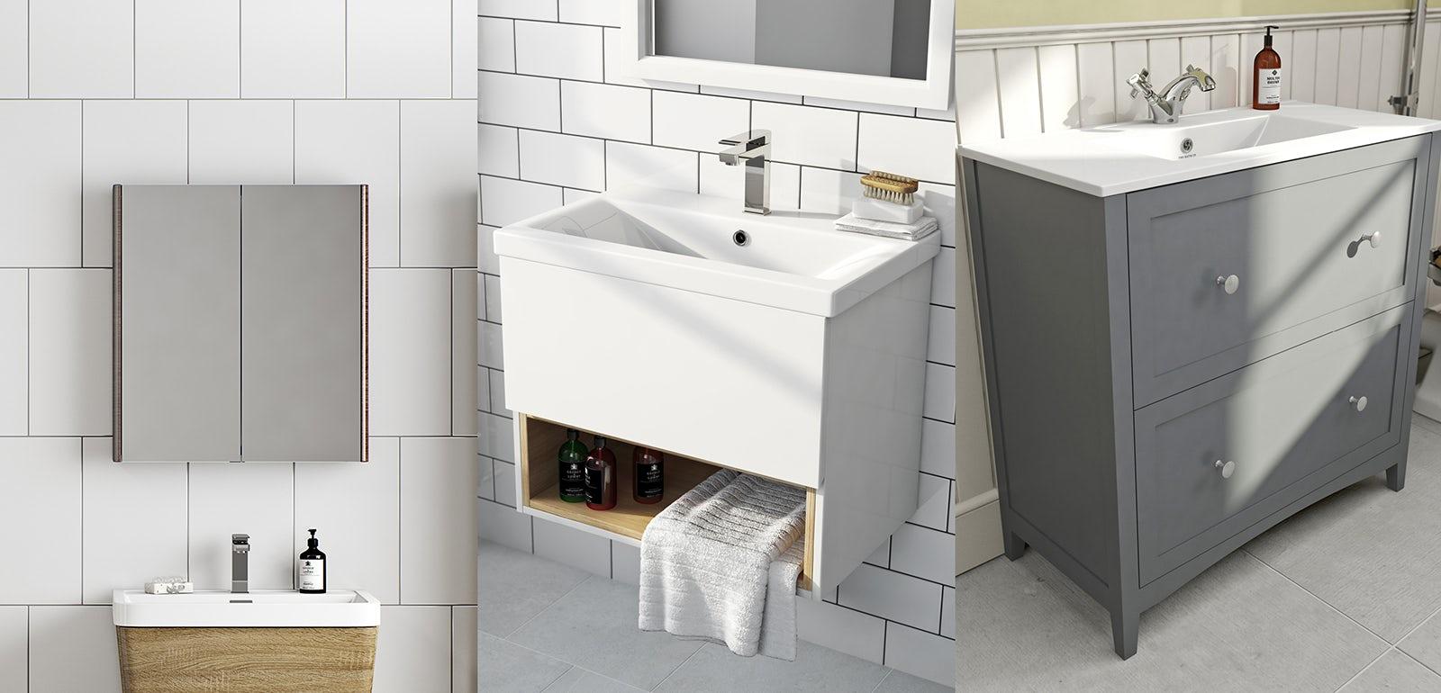 Calypso Bathroom Furniture. Great Marietta Semi Recessed Basin With ...