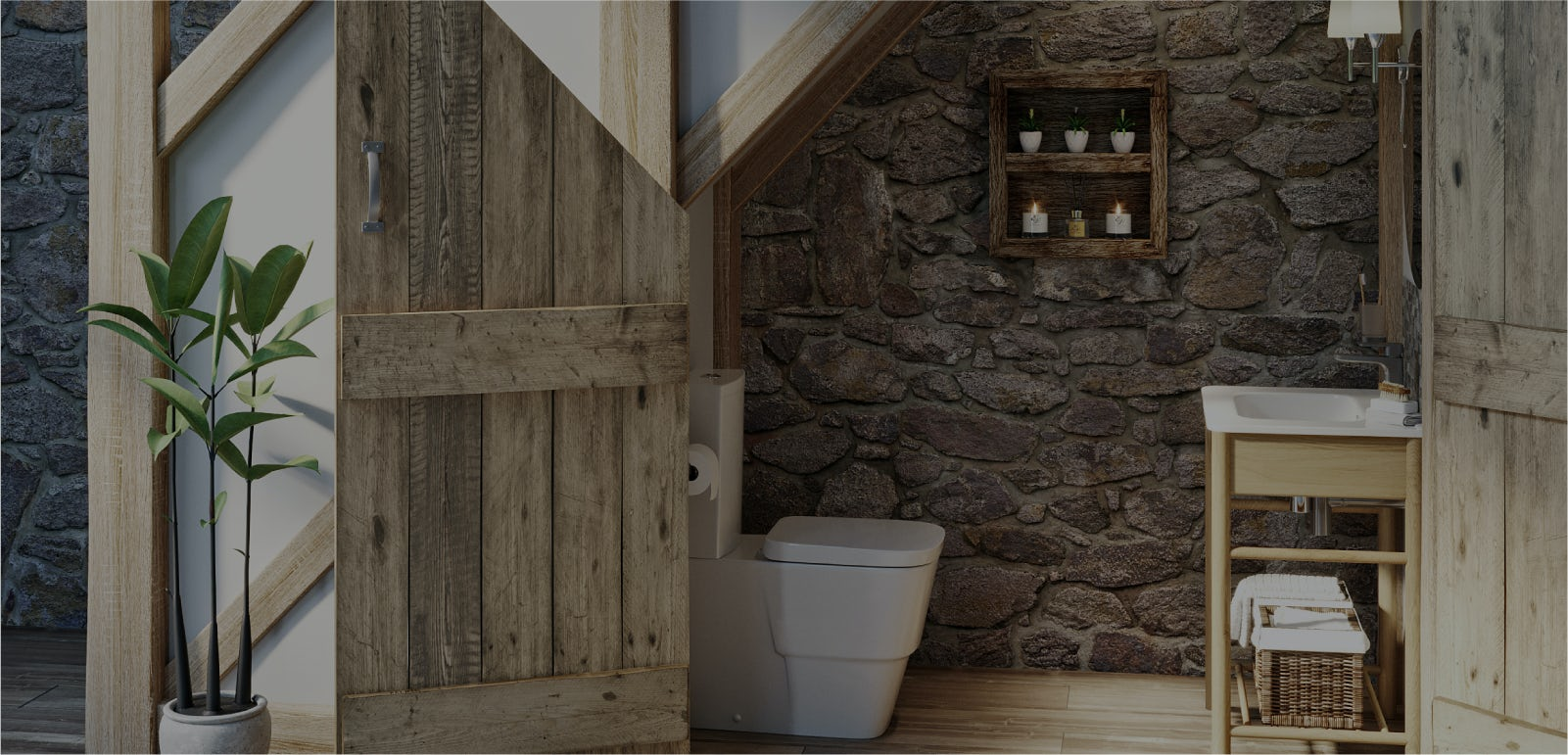 Bathroom ideas: Refined Rustic part 4