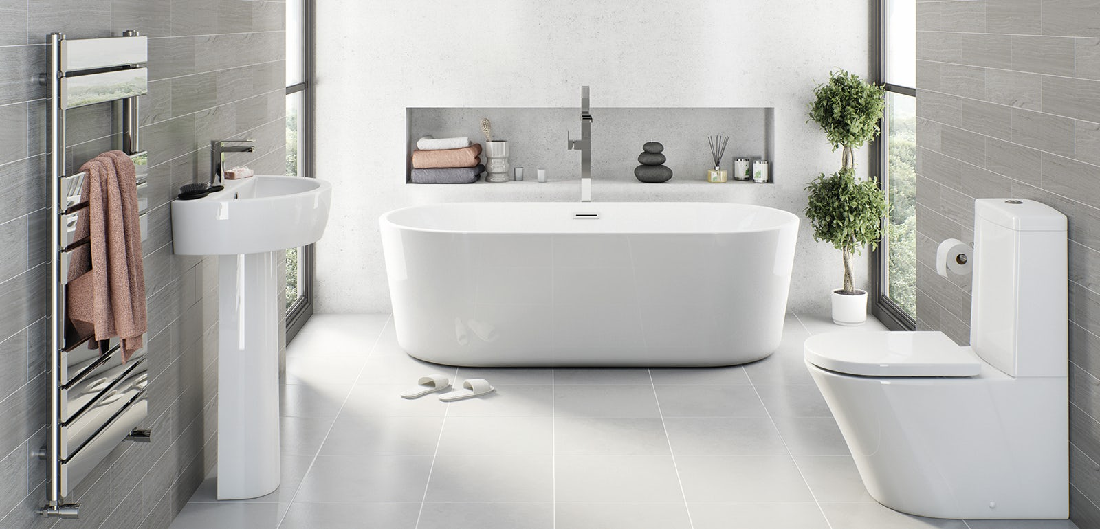 Win a bathroom makeover worth up to £2,000!