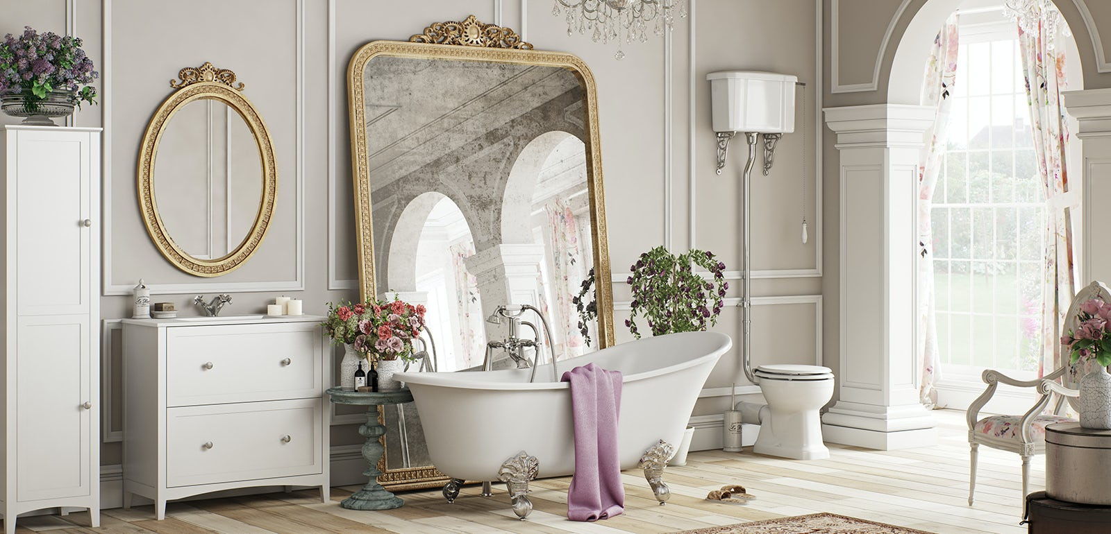 Get the look: French Floral