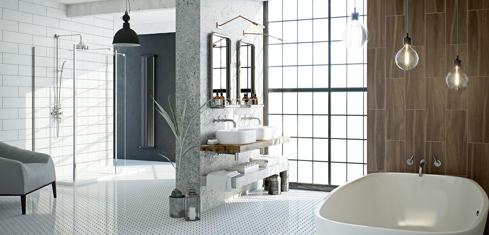 Soft industrial bathrooms VictoriaPlumcom