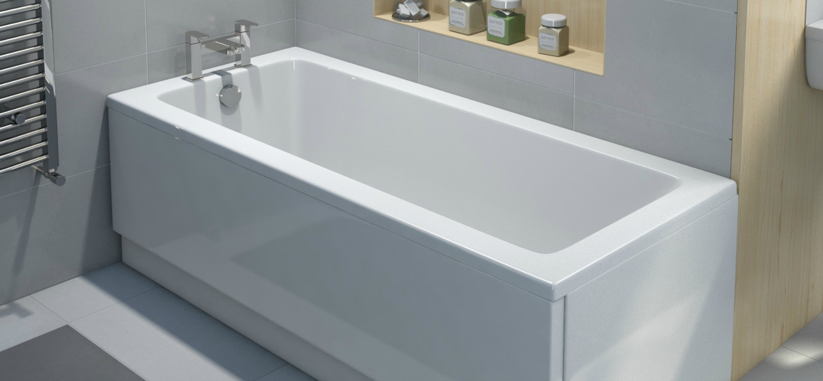 Acrylic v steel baths Which is for me VictoriaPlumcom