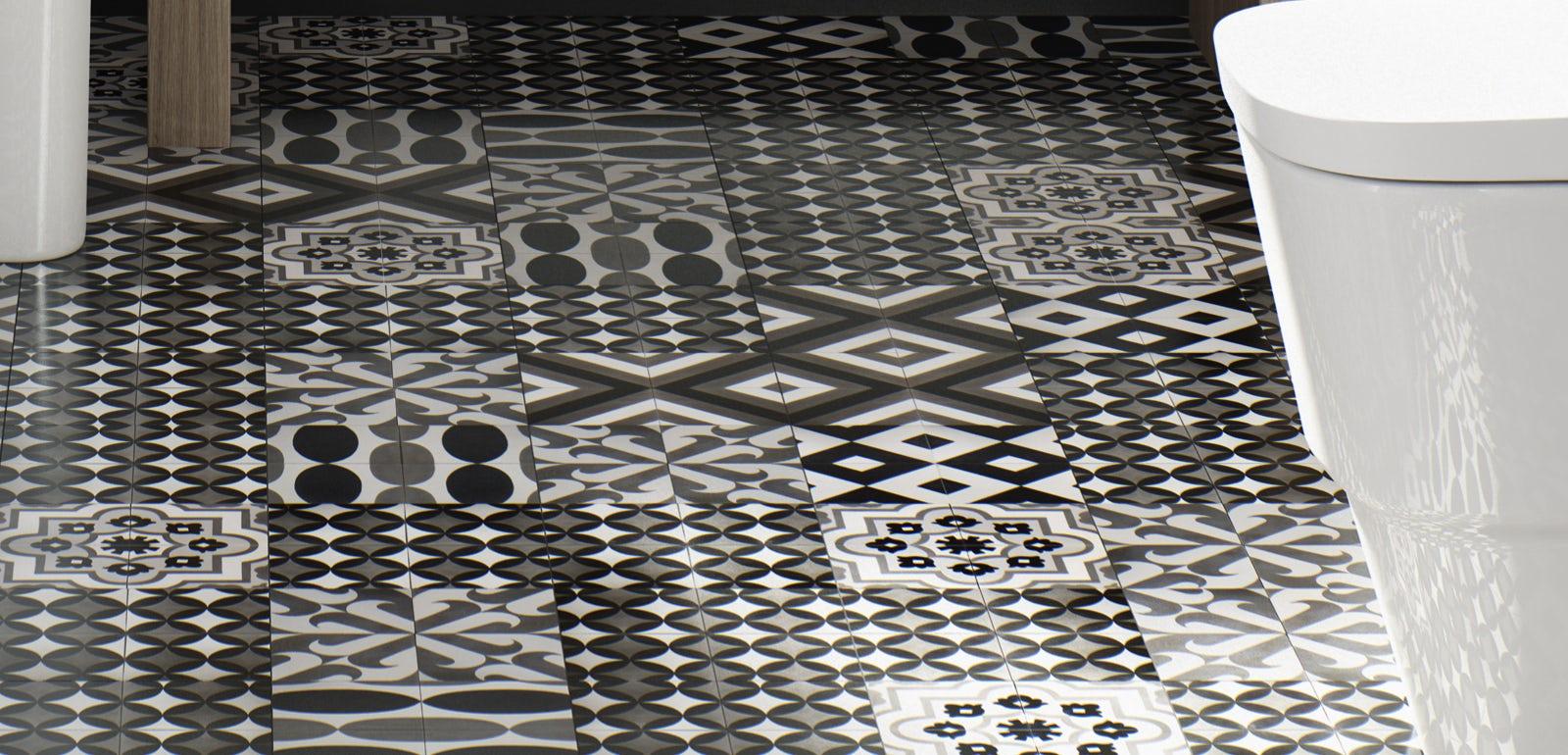 Exellent Art Deco Bathroom Tiles Uk And Inspiration Decorating