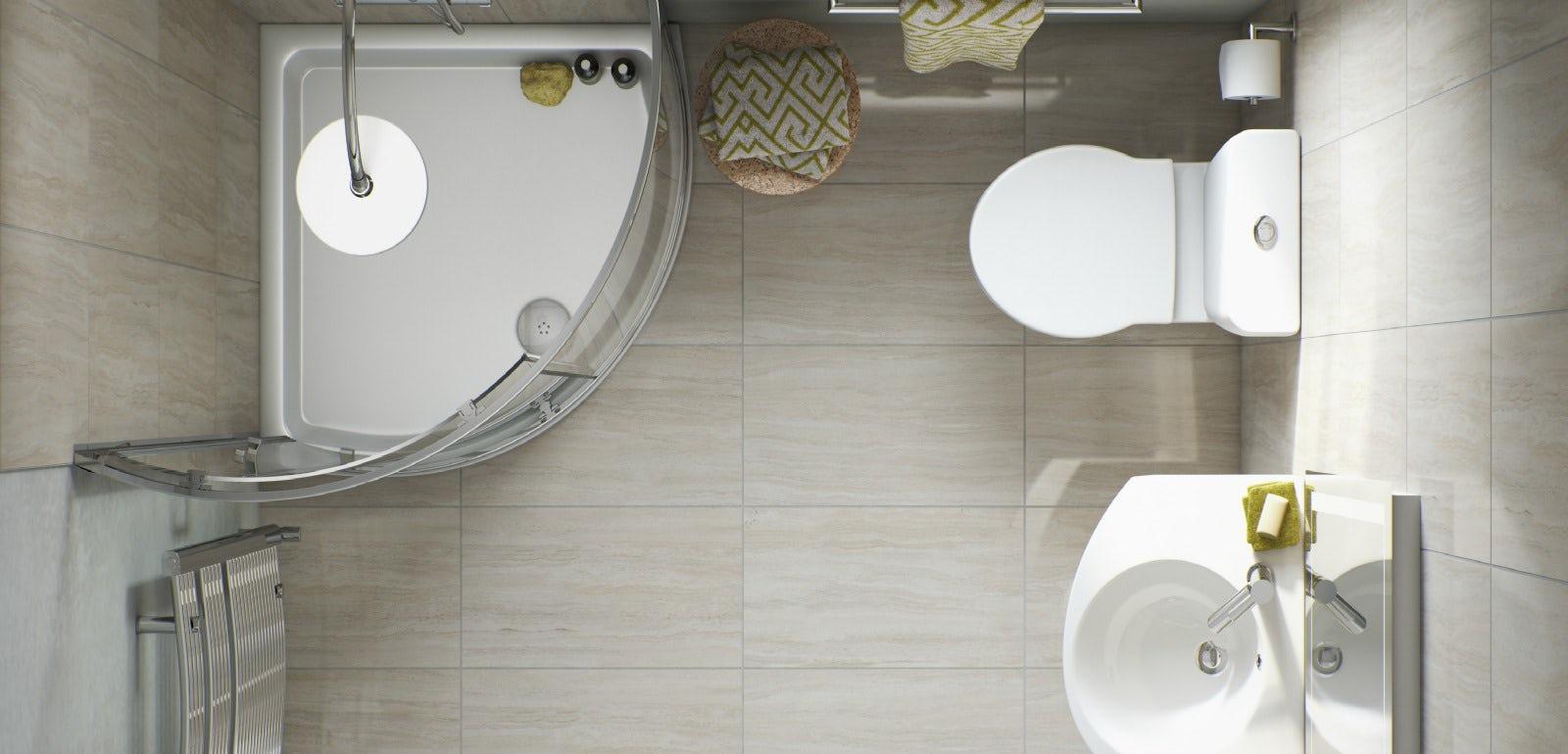 Bathroom layout and measurement advice
