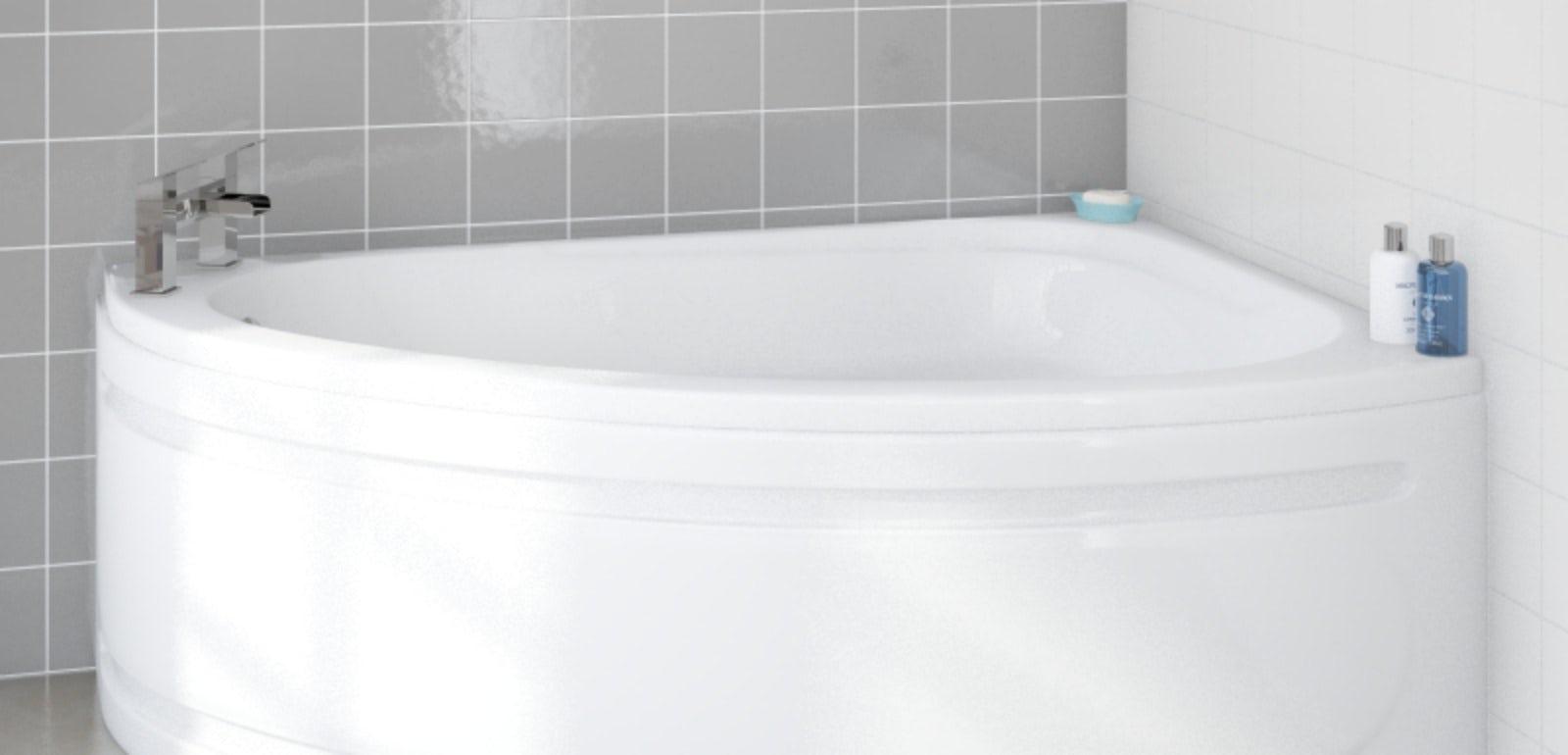 Shower Screens For Corner Baths curved shower screens for corner baths - mobroi