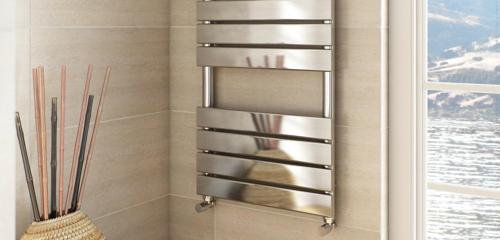 heated towel rails the ultimate winter bathroom accessory - Bathroom Accessories Towel Rail