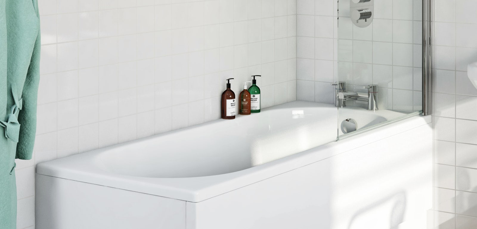 How to Fit a Bath | VictoriaPlum.com
