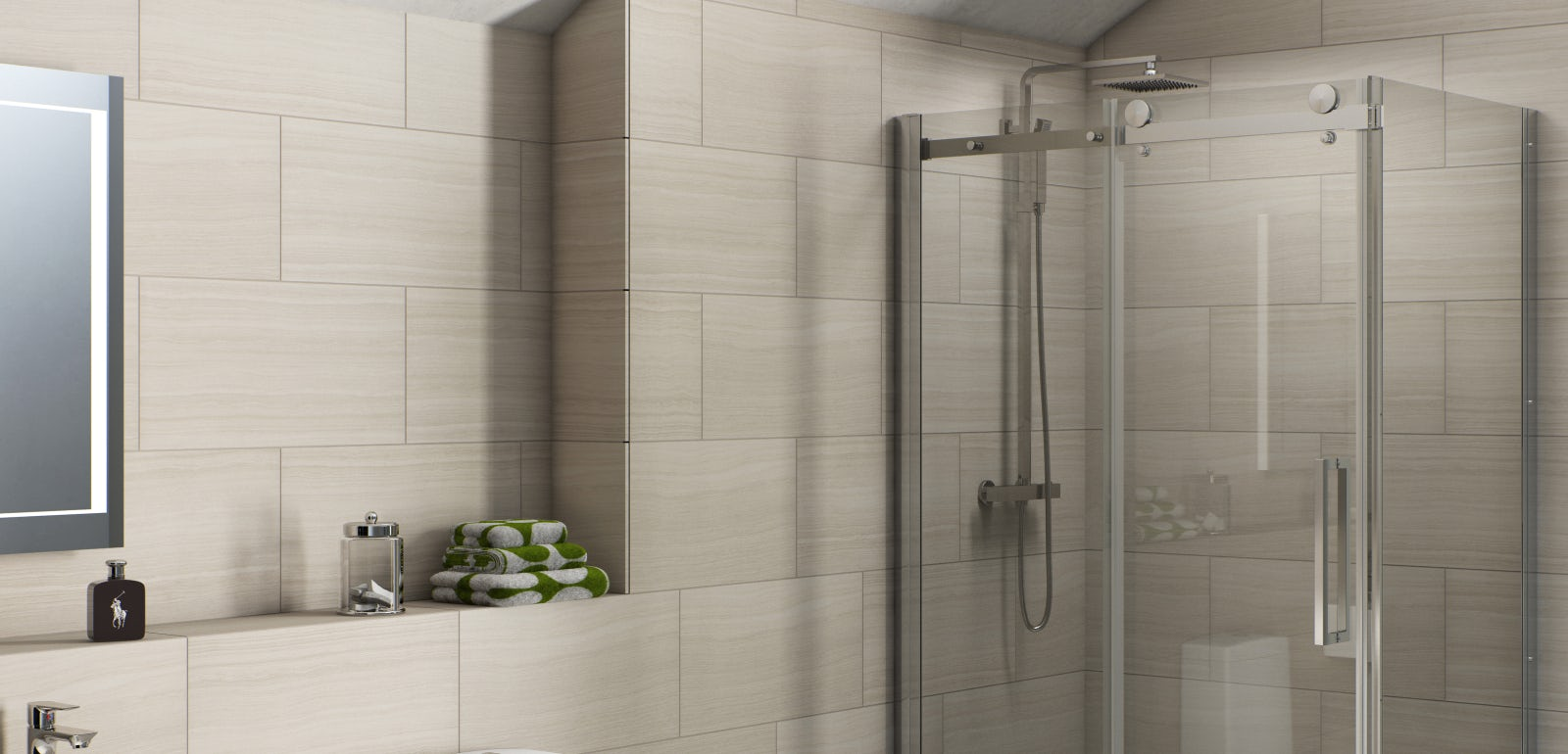 How to Fit a Shower Enclosure | VictoriaPlum.com