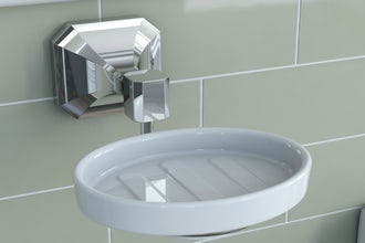 In the bathroom, don't forget those finishing touches…