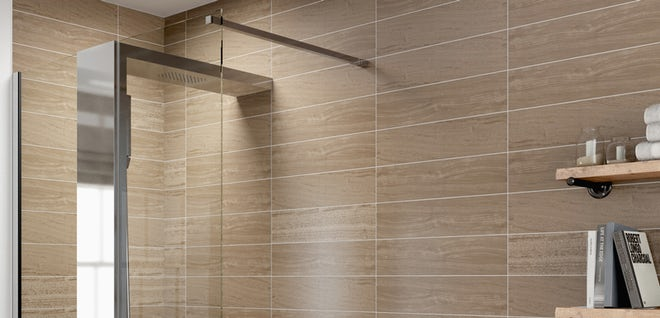 Make a real statement with a walk in shower or wetroom