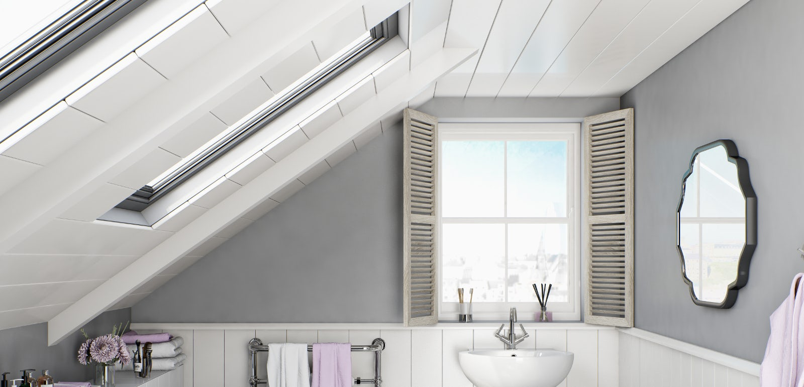 Mirror, mirror on the (bathroom) wall…tips for creating light