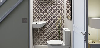 Planning a cloakroom bathroom