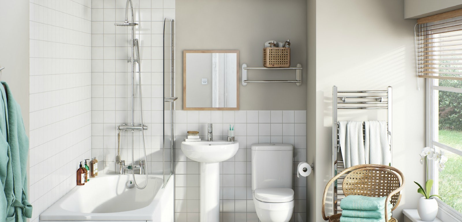 Awesome Bq Bathroom Suites With
