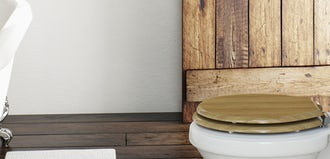 Plastic or wood? Which toilet seat do you prefer?