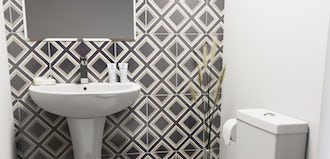 Small cloakroom bathroom ideas