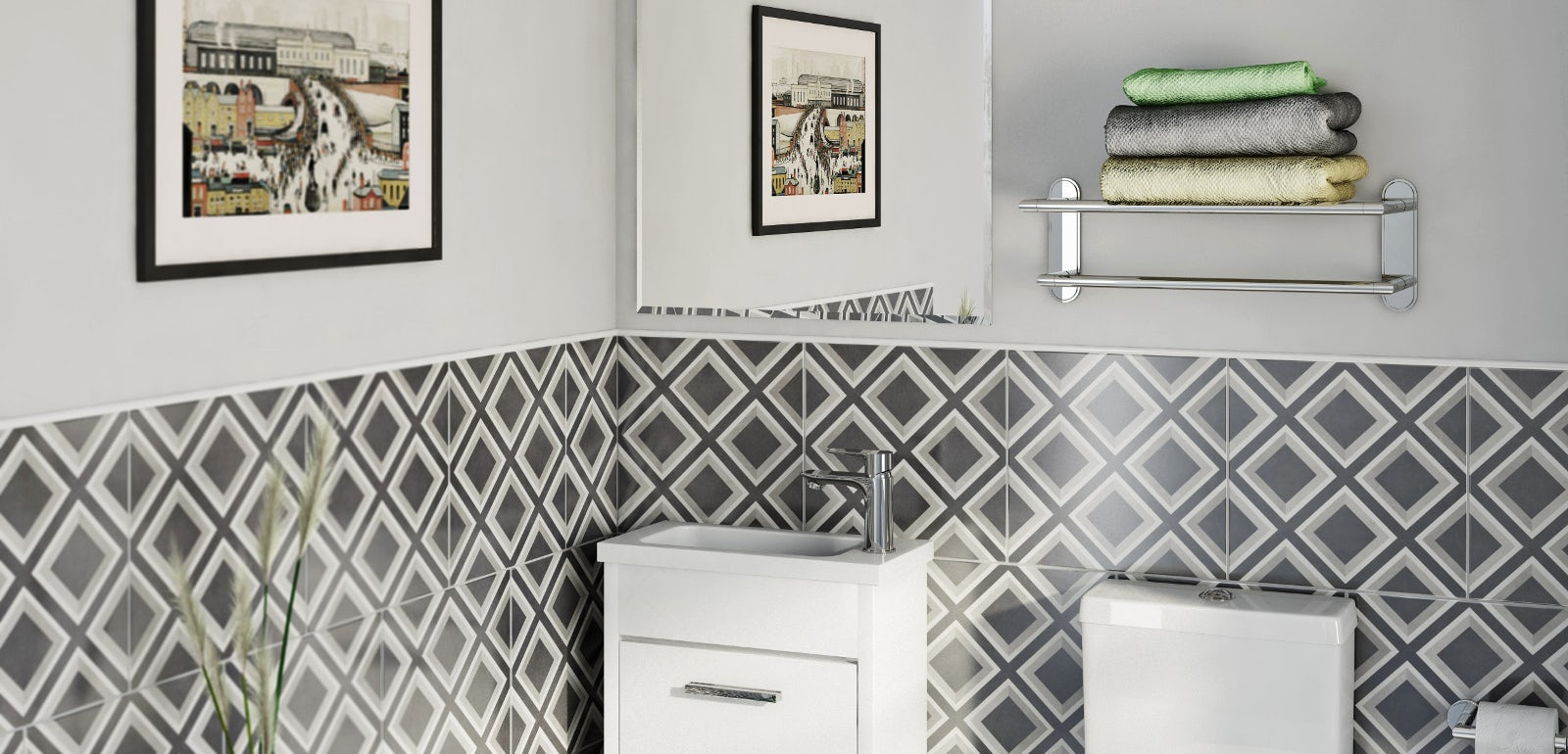 Smart ideas for compact bathrooms