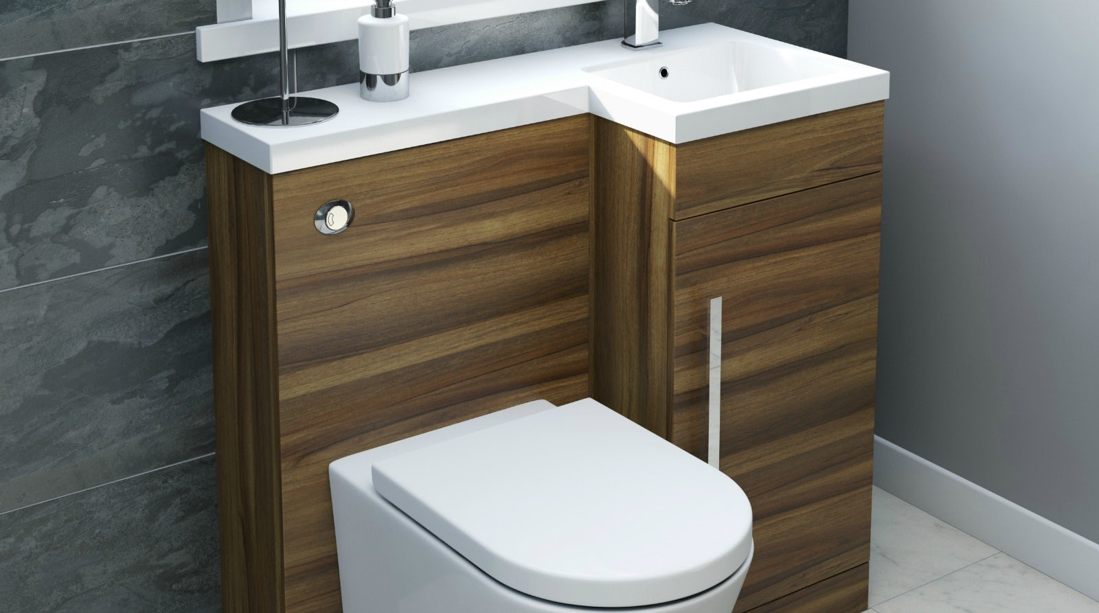 Toilet and basin unit buying guide for Toilet furniture cabinet