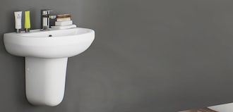 Wall mounted basins: what you need to know