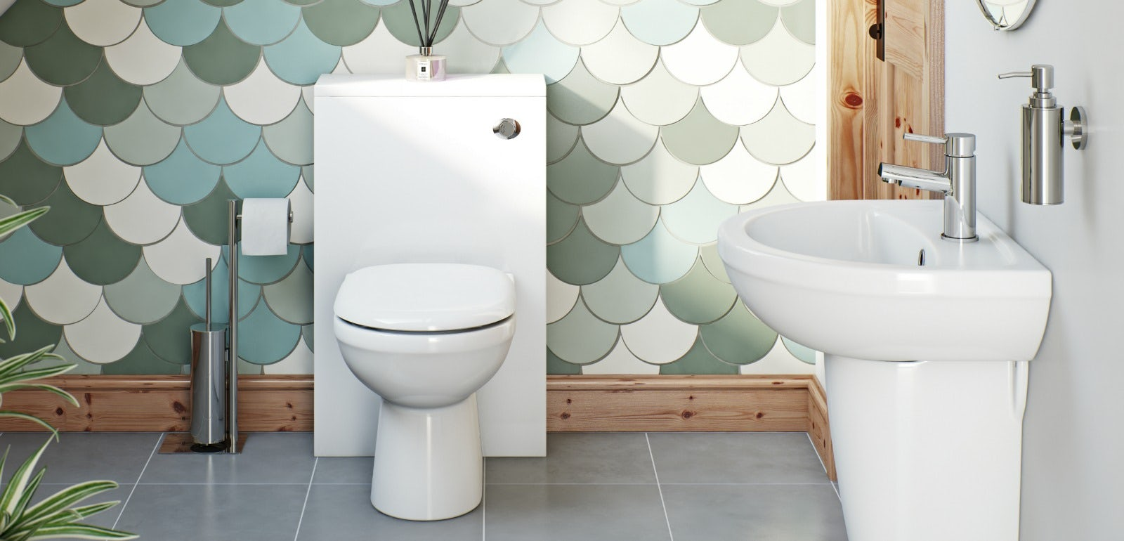 We predict unusual textures and space usage will be leading bathroom trends for 2014 & Top bathroom trends for 2014 | VictoriaPlum.com