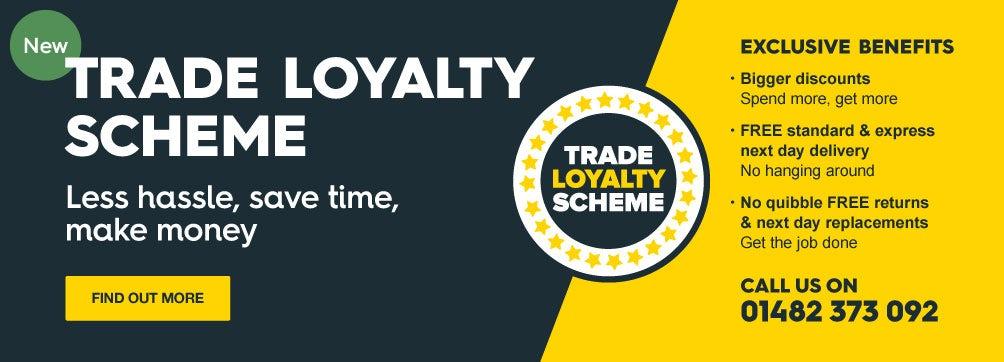 Trade loyalty scheme