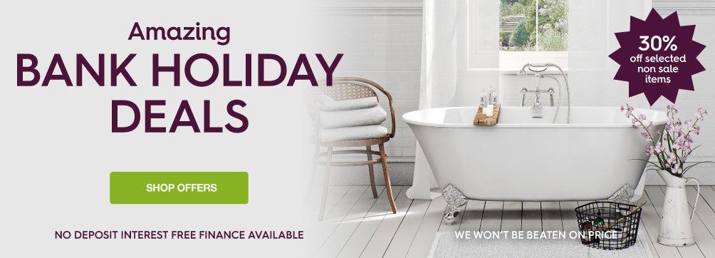 Bank holiday deals