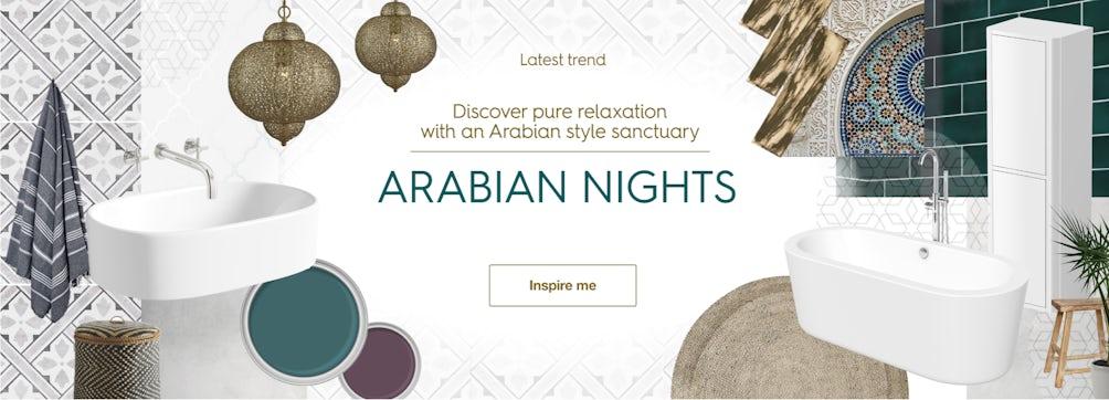 Latest trend: Arabian nights