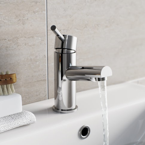 waterfall basin mixer tap