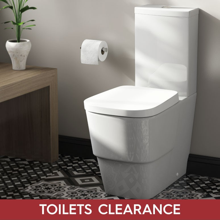 Toilets clearance