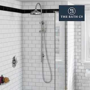 The Bath Co Shower Slider Rail