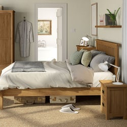 Rome oak bedroom furniture