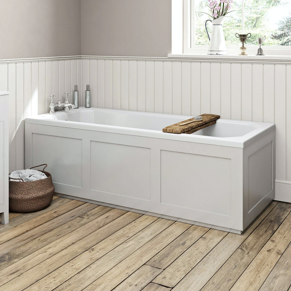 wooden bath panels
