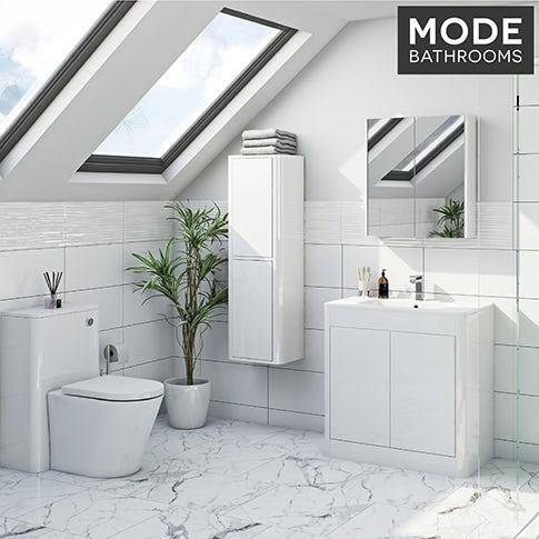 Purity ice white bathroom furniture