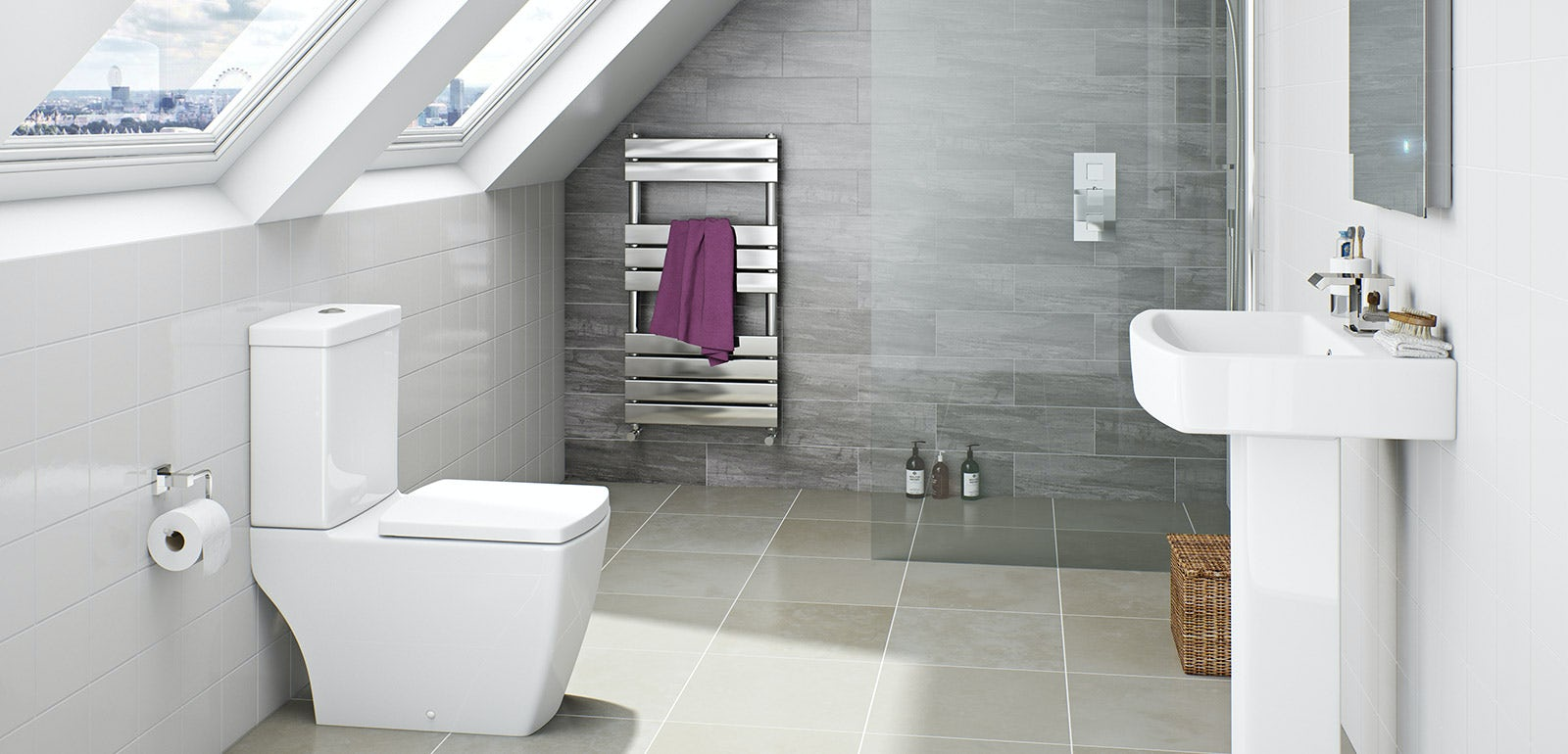 Montreal Bathroom Suite Range