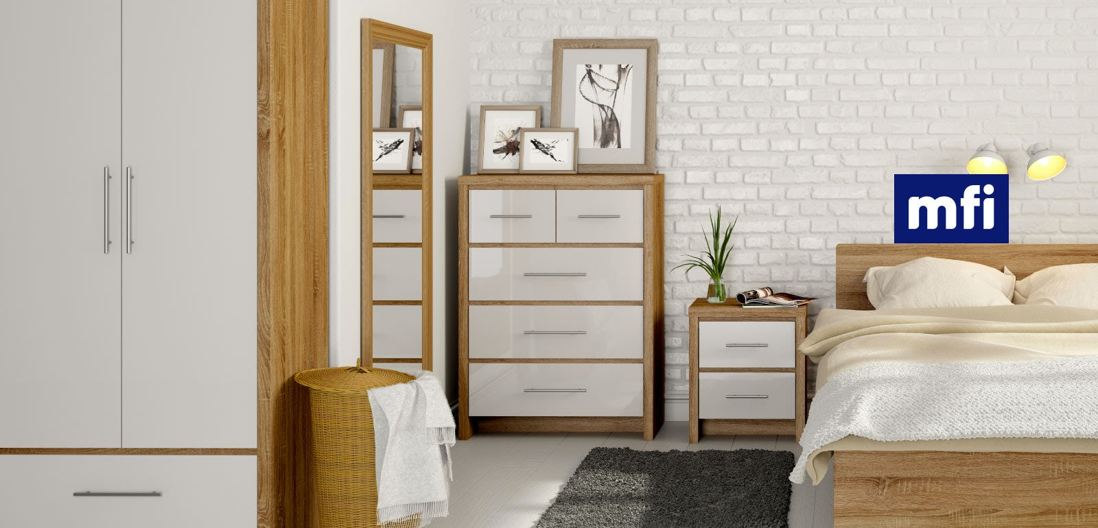 White Gloss Bedroom Furniture