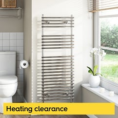 Heating clearance