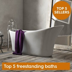 Top 5 freestanding baths