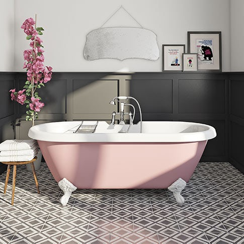 Limited edition painted baths
